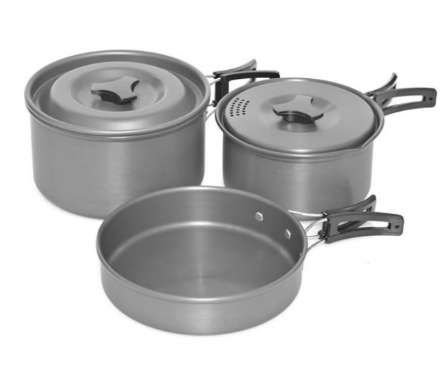 Armolife 3 Piece Cookware Set