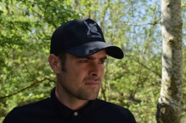 CC Moore Black Trucker Hat